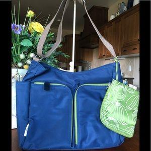 Orla Kiely hobo/diaper bag